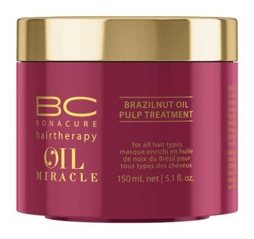 6afa827392 Schwarzkopf BC Oil Miracle Brazilnut Oil Pulp Treatment - Tradehouse -  Ilukaubamaja